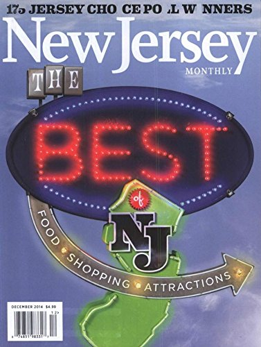 New Jersey Monthly (1-year auto-renewal)