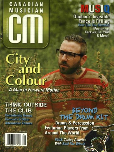 Canadian Musician Magazine (1-year auto-renewal)