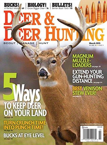Deer & Deer Hunting (1-year auto-renewal) [Print +Kindle]
