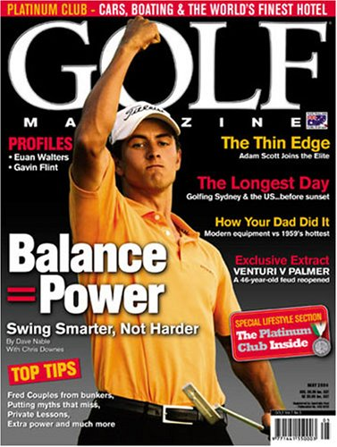 Golf Magazine – Australian Edition