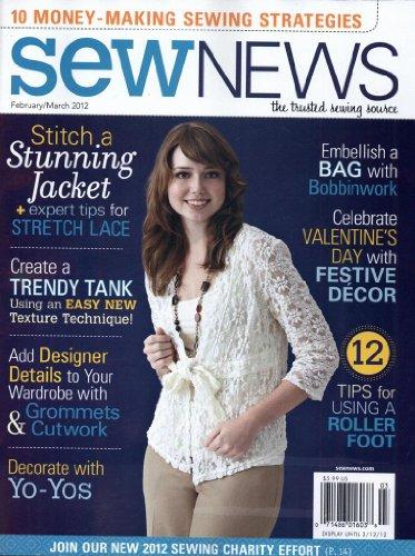 Sew News (1-year auto-renewal)