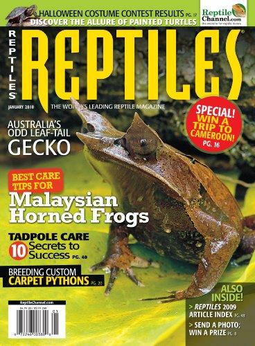 Reptiles Magazine (1-year auto-renewal)