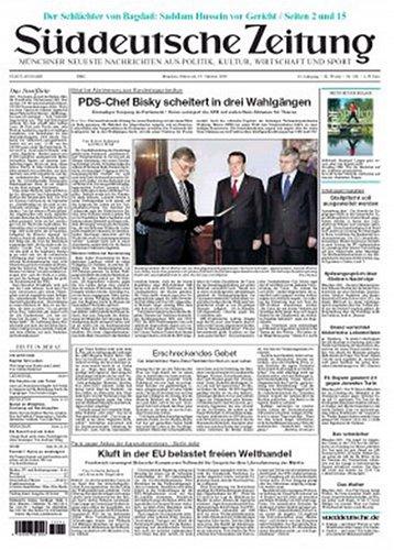 Sueddeutsche Zeitung – Daily – Mon-Sat