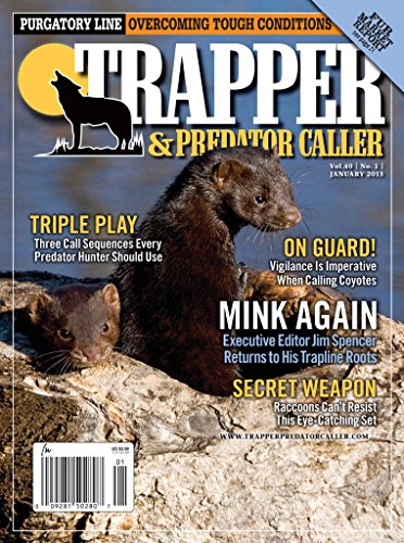 Trapper & Predator Caller (1-year auto-renewal) [Print + Kindle]