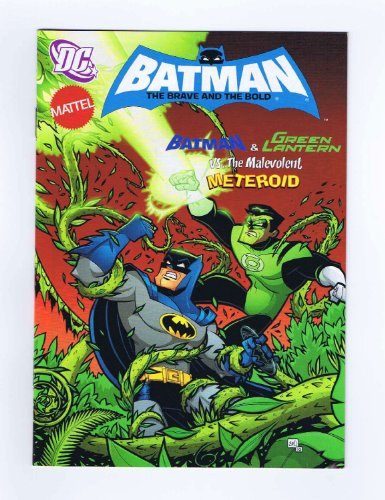 Batman The Brave and the Bold #21 Digest Size Comic Book 2010 Mattel/DC