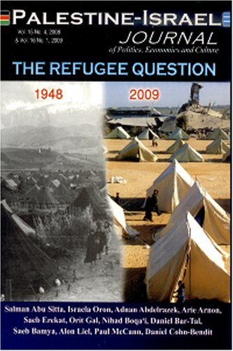 Palestine-Israel Journal of Politics Economics and Culture