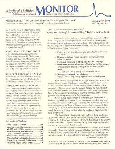 Medical Liability Monitor