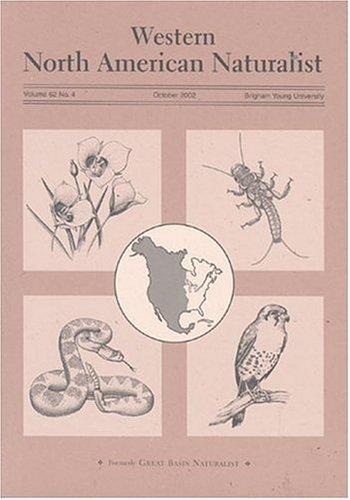 Western North American Naturalist
