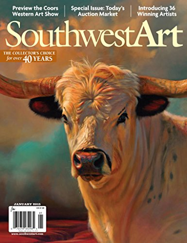 Southwest Art (1-year auto-renewal) [Print + Kindle]