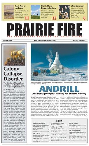 Prairie Fire : Progressive Voice of the Great Plains