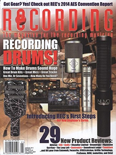 Recording Magazine (1-year auto-renewal)