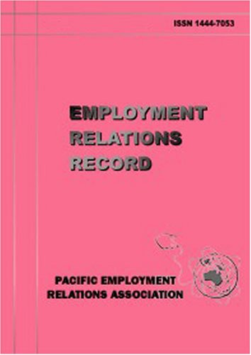 Employment Relations Record