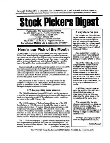 Stock Pickers Digest