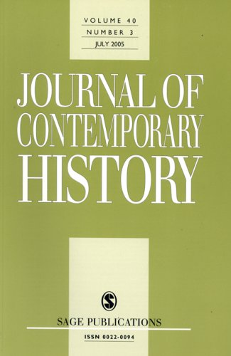 Journal for Contemporary History = Joernaal Vir Eietydse Ges