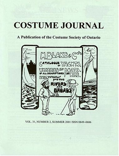 Costume Journal : a Publication of the Costume Society of on