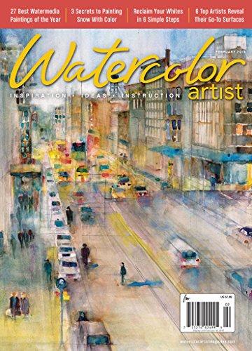 Watercolor Artist (1-year) [Print + Kindle]
