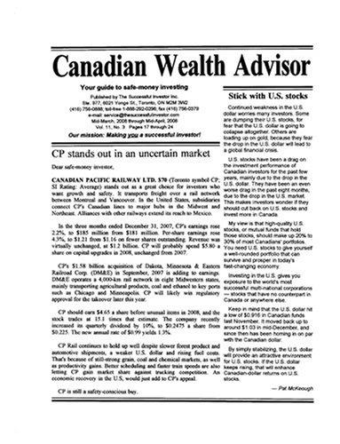 Canadian Wealth Advisor