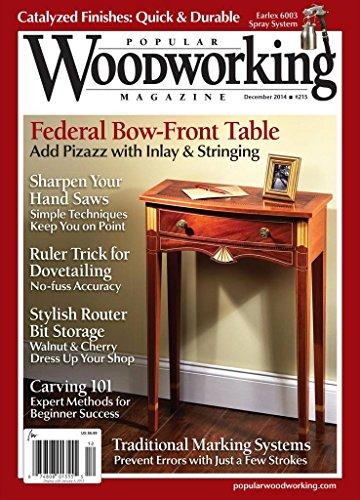 Popular Woodworking (1-year auto-renewal) [Print +Kindle]