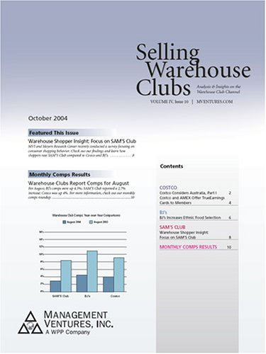 Discount Store Warehouse Club Monthly