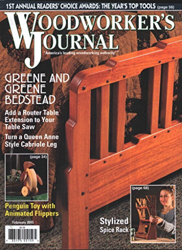 Woodworker's Journal, The (1-year auto-renewal)