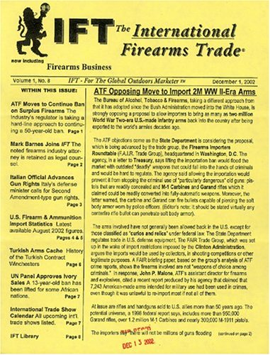 International Firearms Trade