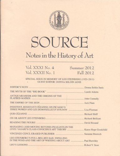 Source – Notes in the History of Art