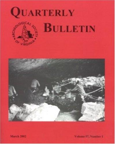 Archeological Society of Virginia Membership