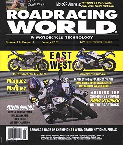 Roadracing World & Motorcycle Technology (1-year auto-renewal)