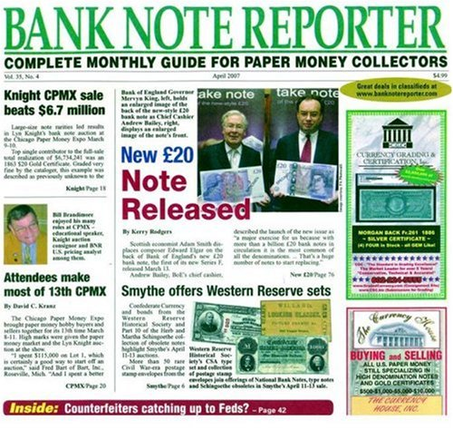Banknote Reporter (1-year auto-renewal)