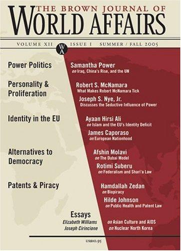 Brown Journal of World Affairs