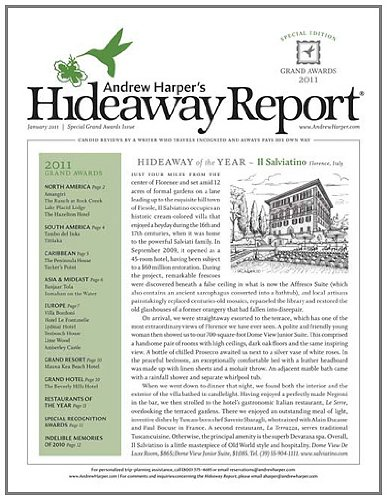 The Hideaway Report (1-year)
