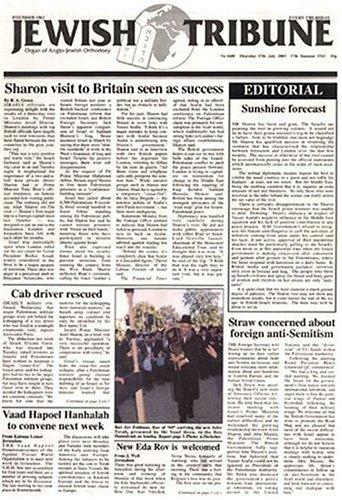 Jewish Tribune – England