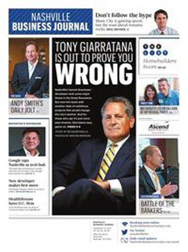 Nashville Business Journal – Print + Online