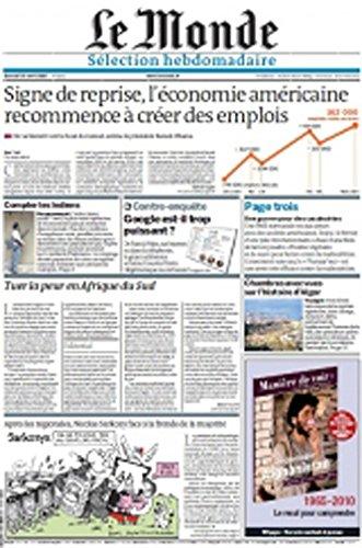 Le Monde Selection Hebdomadaire