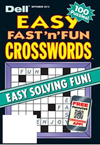 Dell Easy Fast N Fun Crosswords