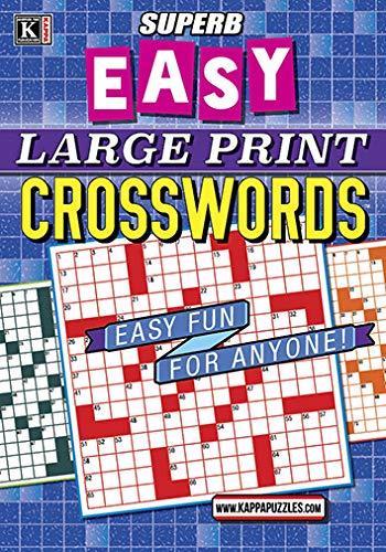 Superb Easy Large Print Crosswords
