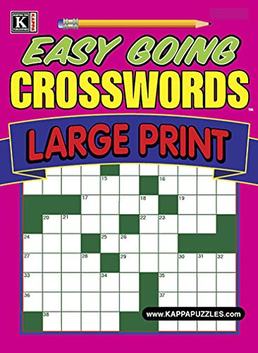 Easy Going Crosswords – Large Print