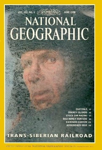 National Geographic Magazine, June 1998 (Vol. 193, No. 6)