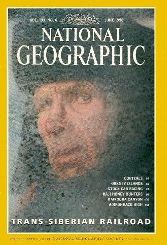 National Geographic Magazine, June 1998 (Vol. 193, No. 6)