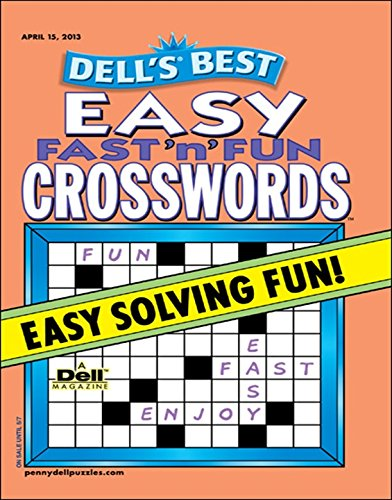 Dells Best Easy Fast N Fun Crosswords
